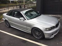 BMW 320i sport 55 plate convertible only 60000 miles
