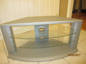 Panasonic Wood and Glass TV stand model TY.42P5OP