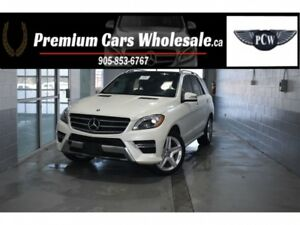 2014 Mercedes-Benz M-Class ML350 BlueTEC 4MATIC DIESEL PANORAMIC