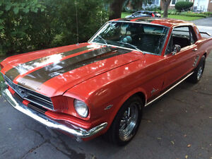Mustang Coupe 1965 Manuelle