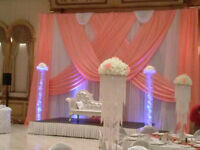 Banquet Décor, , Decorations package,Chair Covers starting at $1