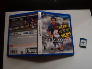 PS Vita Games - FIFA 13, MLB 13