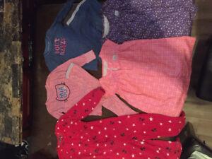 Lot de pyjama sourie mini pour fille 5 ans