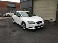 2013 63 SEAT LEON 1.6 TDI AUTOMATIC DSG SE TECH PACK,ONLY 49000 MILES WITH FSH