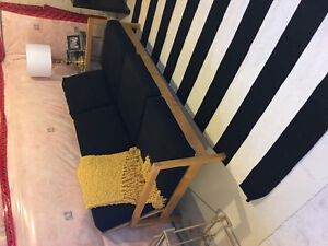 Moving sale - frames, couch, coffee table, dining, stools