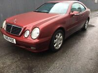 Mercedes CLK 230 avantgarde KOMP A trade in to clear