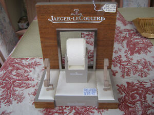JAEGER - LE COULTRE THREE WRISTWACH DEALER DISPLAY