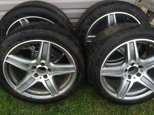 Mercedes tires and rims