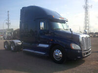 2012 FREIGHTLINER CASCADIA WITH FACTORY WARRANTY
