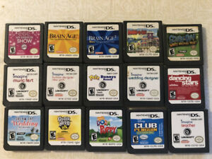Nintendo DS games for sale - buy two, get one free!