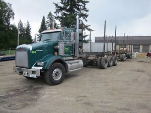 Reduced 2012 Kenworth T800 W/Doepker Shortwood Quad