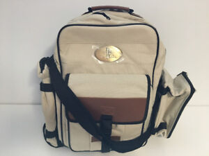 Brand new Picnic Backpack with dish-ware for 4