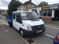 Lovely ford transit tipper crew cab one former keeper no vat !!
