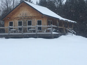 Hunting-for rent-chalet & bunkhouse with 150 acres to hunt