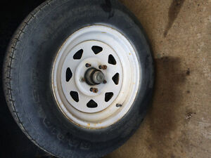 """*wanted* 15"""" Trailer Tire and Rim"""