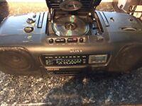 Sony Ghetto blaster £10