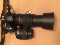Nikon dslr camera D3300 + 18-55 mm video record