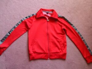 TNA Red with Grey Track Jacket (like new)