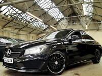 2013 Mercedes-Benz CLA Class 2.1 CLA220 AMG Sport 7G-DCT 4dr (Map pilot,