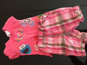 Sesame Street baby outfit