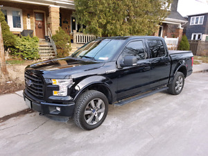 2016 Ford F150 SuperCrew 4x4 Sport - Lease takeover