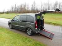2016 Peugeot Partner Tepee 1.6 VTi Petrol WHEELCHAIR ACCESSIBLE ADAPTED VEHICLE