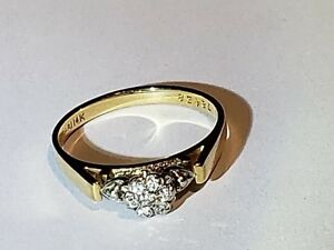 Ladies Diamond Ring - 14K - Engagement style
