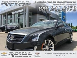 2016 Cadillac ATS Sedan 3.6 * PREMIUM * AWD  GM EXEC VEHICLE