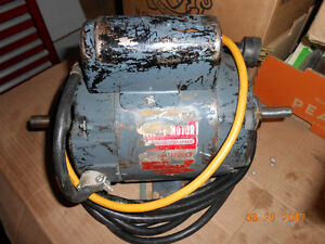 1 Hp general elecfric motor wire for jointer of table saw