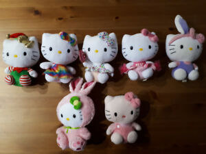 Toutous de collection Hello Kitty