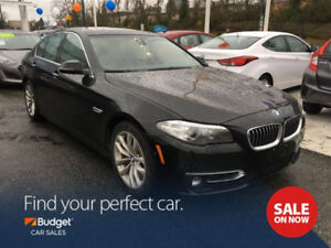 2016 BMW5 Series 528i xDrive, Lane Warning, Navigation