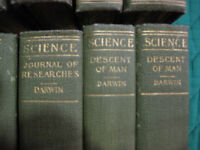 30 Volume antique set of Science books