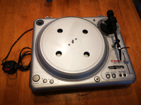 2x Vestax PDX2000 / PDX 2000 Direct Drive Turntables