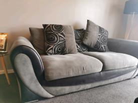 Grey/Black sofa