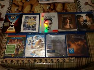 Various Blu-Rays