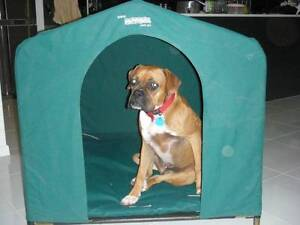 HoundHouse Large Green Kennel Dog Bed pet home house Carlisle Victoria Park Area Preview