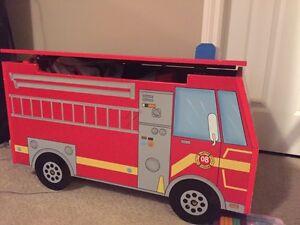 Fire truck toybox