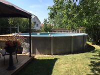 21 foot round pool for sale