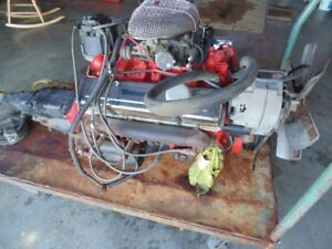 chevy 350 engine and tranny ALSO 305 tbi ho