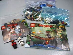 (2) sets Lego  Ninjago Movie , Ils sont complets 70606-70608