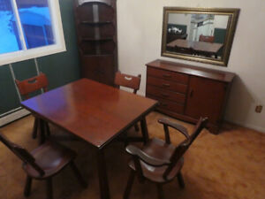 DINING ROOM FURNITURE , 3 PIECES     ( DARTMOUTH)