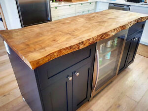 *** CUSTOM FURNITURE MADE WITH RECLAIMED AND LIVE EDGE WOOD ***