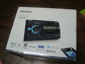SONY Bluetooth Double DIN Car Radio  WX900BT