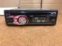 Jvc car stereo cd MP3 player with aux in for iPods etc
