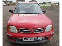 Nissan Micra 1.0 16v CVT S AUTOMATIC LOW MILEAGE