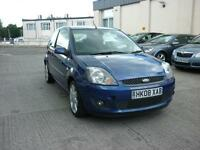 2008 Ford Fiesta 1.25 Just 31k Zetec Blue Finance Available