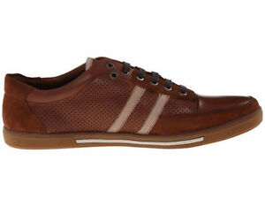 Kenneth Cole First Down Cognac Men's Leather Sneakers