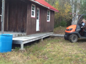 Hunting camp for atving or snowmobiling ( PENDING)