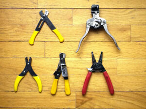 Pro Electrical Tools:  Wire Cutters/Strippers, Voltmeters, etc.