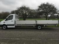 Mercedes Sprinter 313 CDI XLWB 3.5T GVW Extended Chassis **20ft (6m)** Dropside